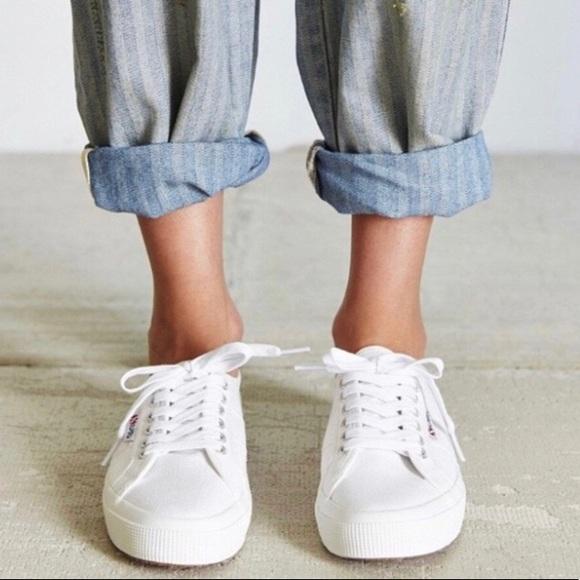 Superga White Shoes Poshmark Cotu 2750 Classic ww07H